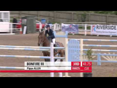 Showjumping - European Viewing Trials Wales & West Juniors 2010