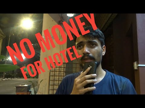 No Entry in HOSTEL at Night| No money 💰 for HOTEL! What did I do then ? #9