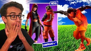 I BOUGHT THE NEW MICHAEL JORDAN SKINS PACKAGE! FORTNITE BATTLE RICK SANTINA