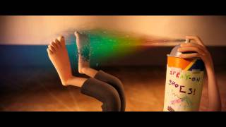 Cloudy with a Chance of Meatballs: Spray-On Shoes thumbnail