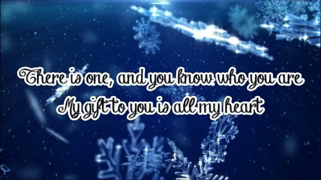 Justin Bieber - Only Thing I Ever Get For Christmas (Lyrics) - YouTube