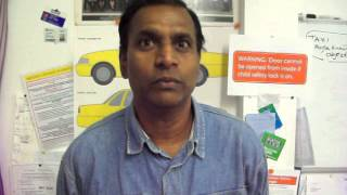 NZTA Auckland Taxi Area Knowledge Test and P or Passenger Endorsement: Pastor Michael Chinnappa.MOV