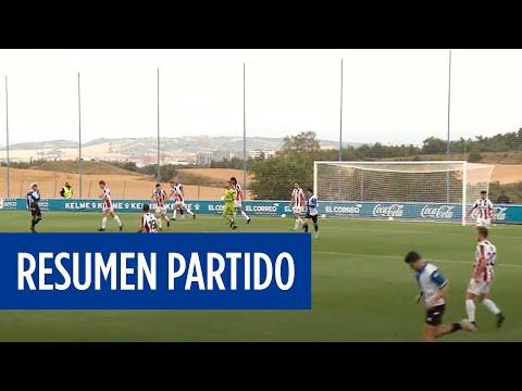 Resumen del primer partido de pretemporada | Deportivo Alavés vs SDLogroñés