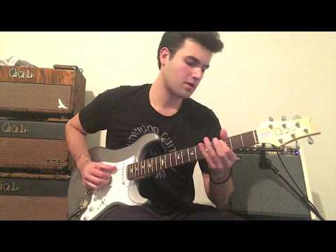 Small Worlds By Mac Miller - Guitar Solo - PRS Silver Sky