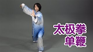 太极拳单鞭如何练习? 太极拳教学Tai Chi Lessons:Single Whip Movement