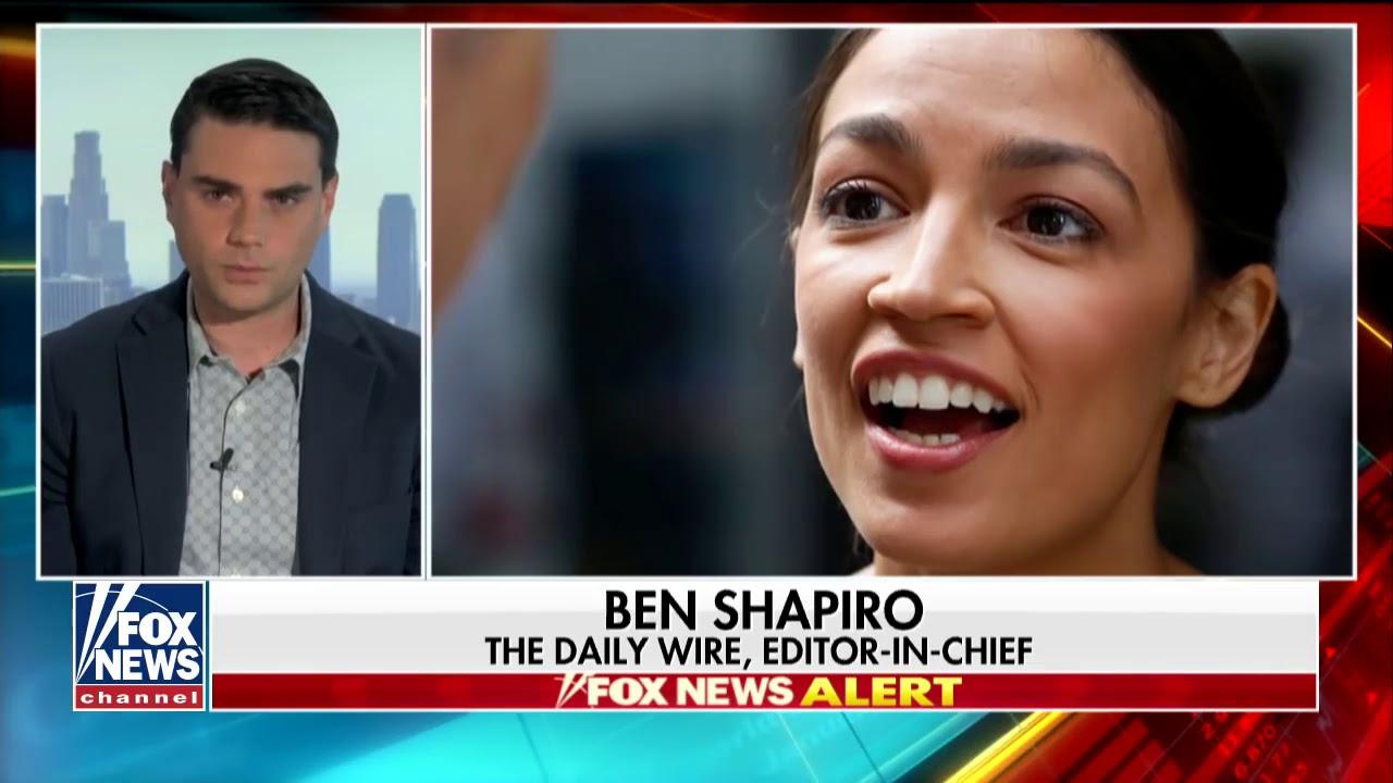 Ben Shapiro sounds off on Ocasio Cortez Twitter exchange