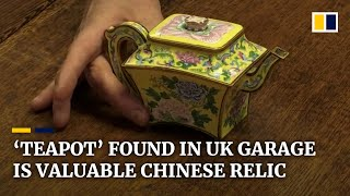 Chinese emperor's 'teapot' found in clear-out of UK garage could sell for as much as US$636,000