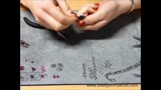 Jewelry making -- DIY Project 7: Making a cheerful bookmark Thumbnail