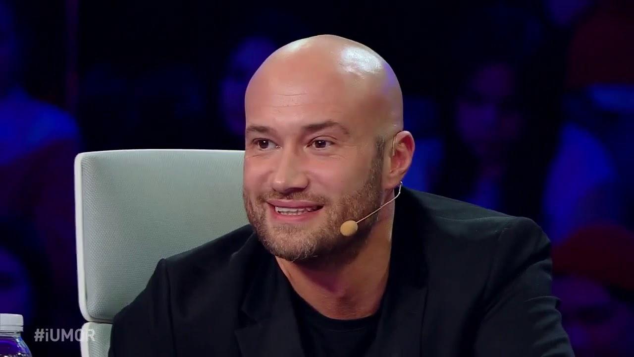 Mihai Bendeac isi bate joc de un concurent emotionat la iUmor