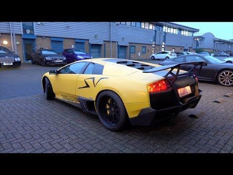 Lamborghini Murcielago Lp670 Sv V12 Sound Youtube