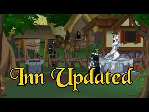 DragonFable: Falconreach Inn Updated