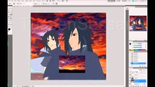 Speed Painting: Madara & Izuna Uchiha [Always]