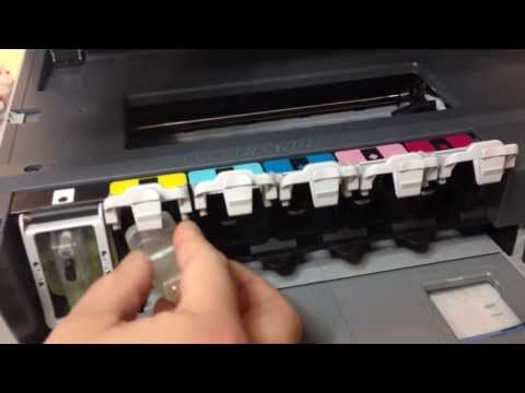 How To Clean Printer Head in HP Printers HP Photosmart 8200