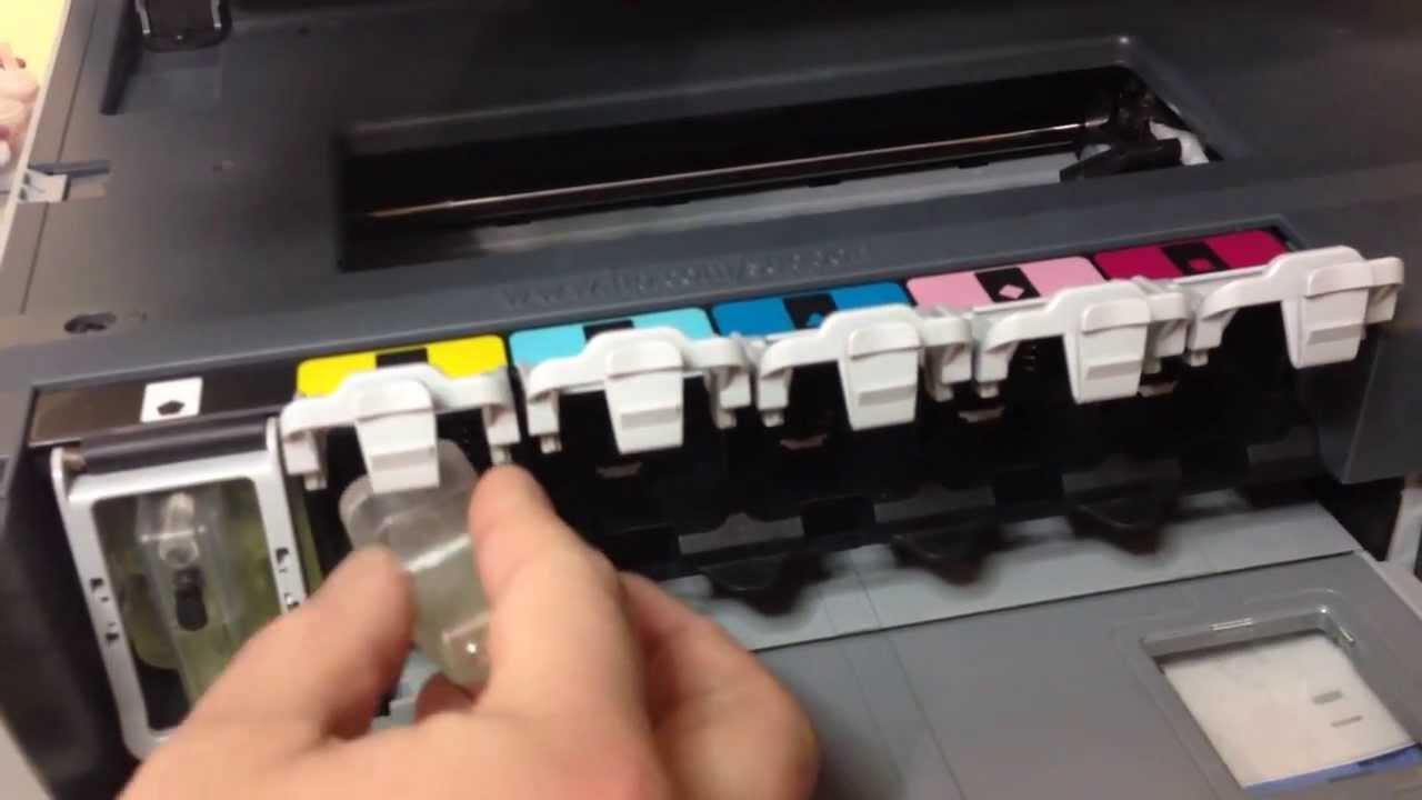 How To Clean Printer Head In Hp Printers Hp Photosmart