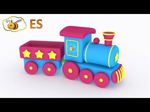 Huevo sorpresa un tren los trenes para ni os dibujos - Dibujos de pared para ninos ...