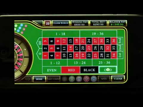 Roulette - Casino Style iPhone App Review - DailyAppShow