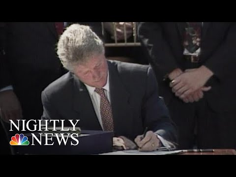 25 Years Later, The 1994 Crime Bill Is Still Being Debated | NBC Nightly News