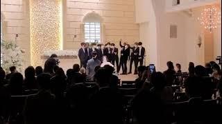AKMU & TREASURE singing live (At YG Producer Wedding)