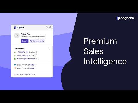 Cognism Prospector - Accelerate your B2B Lead Generation using Revenue AI