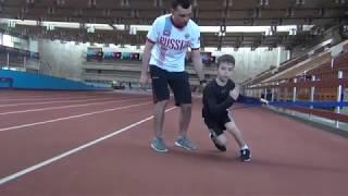 Развивающие упражнения и тренировки по хоккею для детей. Hockey training for children 6
