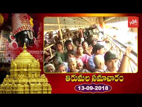 Tirumala Samacharam Today   Tirumala Tirupati Samacharam Today   #TTD News   YOYO TV Channel