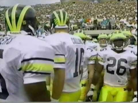 1994: Michigan 26 Notre Dame 24 (PART 1)