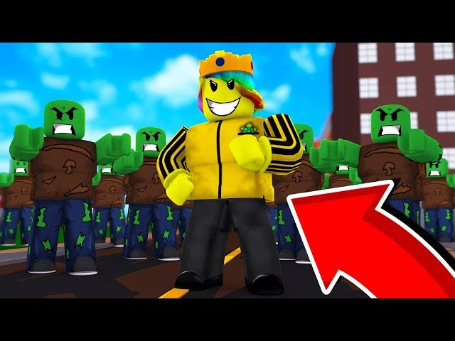 Making The STRONGEST ZOMBIE ARMY (Roblox Zombie INC 2)