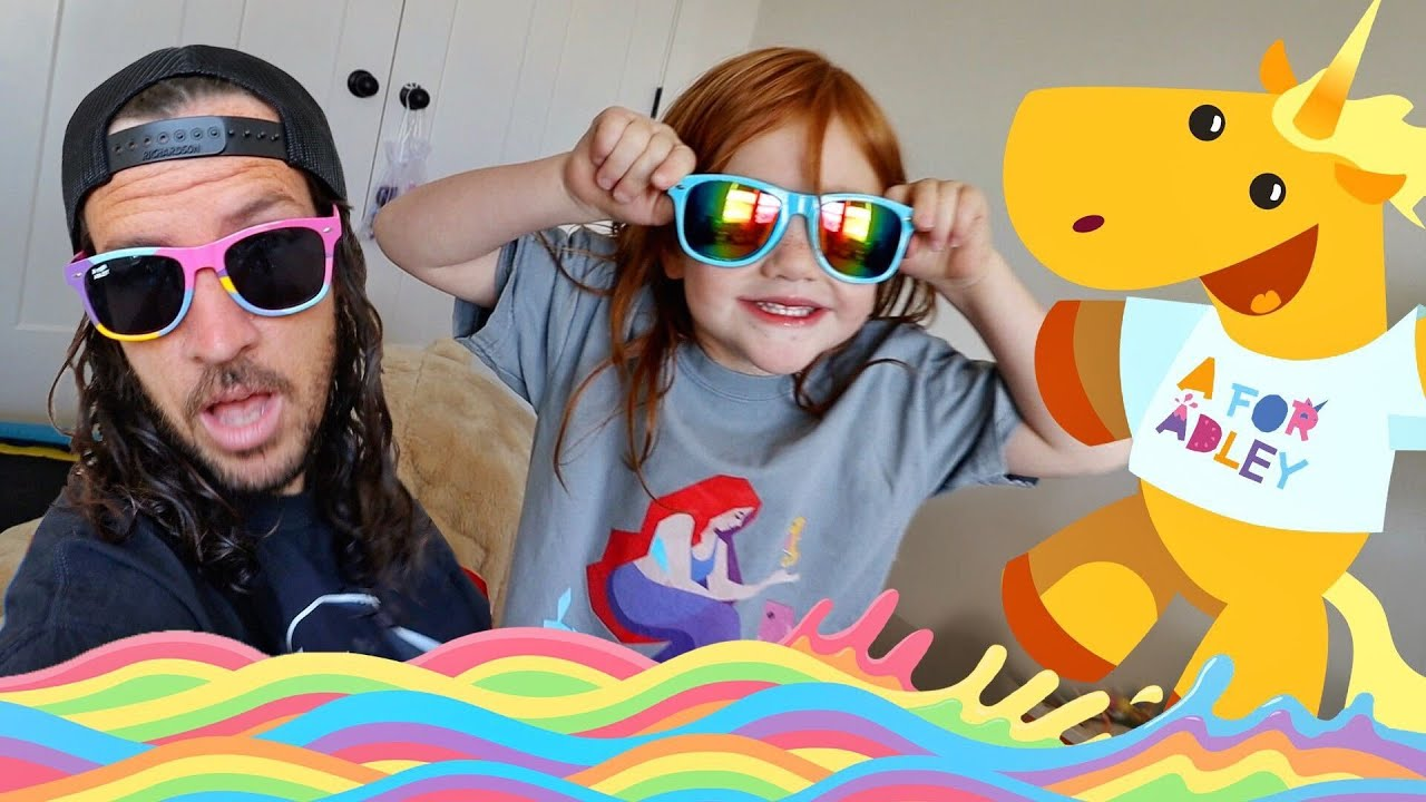 ADLEY STORE is OPEN!! new Unicorn and Rainbow shirts for YOU! pretend play store with real website!