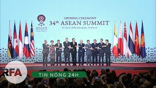 Tin nóng 24H   ASEAN kêu gọi kiềm chế ở Biển Đông, ủng hộ hiệp định tự do thương mại với Trung Quốc