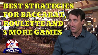 "Best Strategies for Baccarat, Roulette & 3 More Games with Michael ""Wizard of Odds"" Shackleford"
