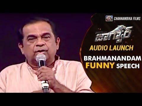 Brahmanandam FUNNY COMMENTS on Olympic Medalist PV Sindhu | Jaguar Movie Audio Launch | Nikhil Kumar