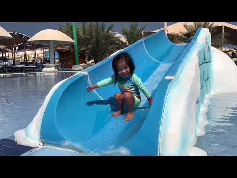 ICELAND WATER PARK RAS AL KHAIMAH UAE OCTOBER 24, 2017