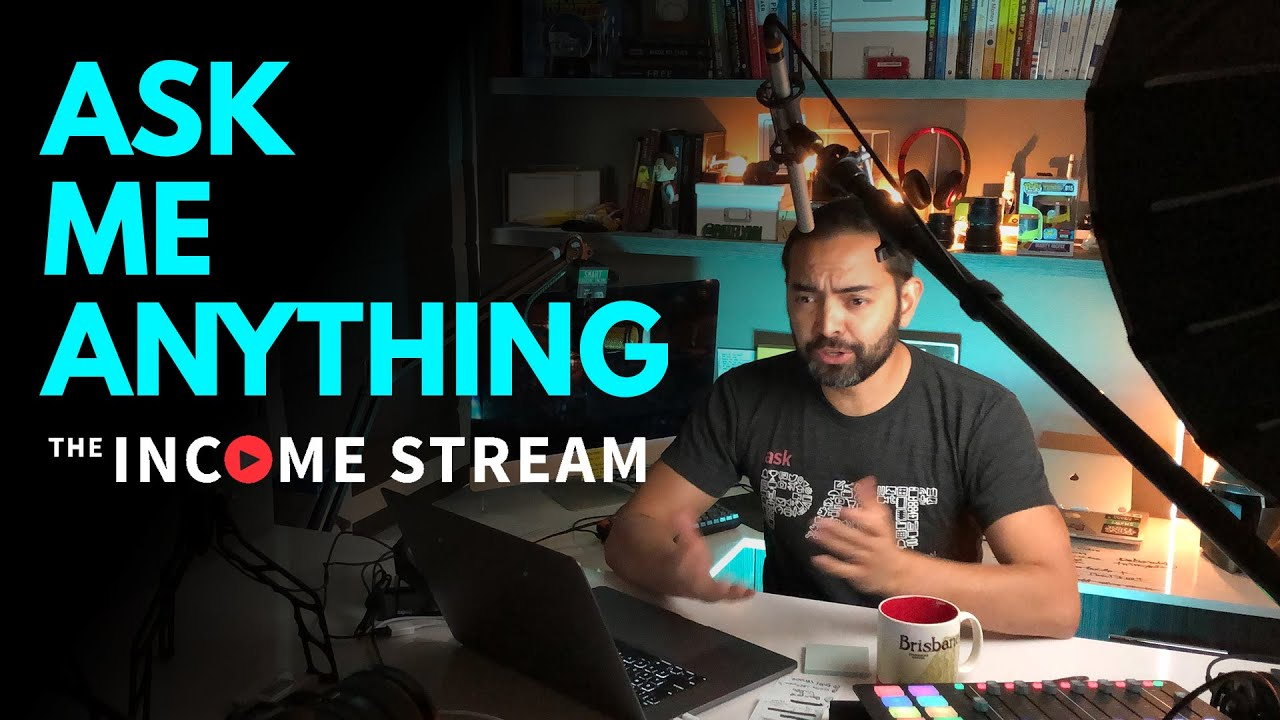 Ask Me Anything with Pat Flynn - The Income Stream - Day 256