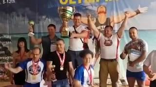 Сборная Крыма по пауэрлифтингу выиграла Кубок Европы