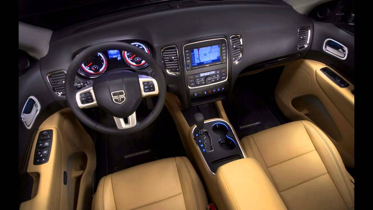 Dodge Durango 2016 Interior Design Ideas