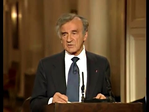 Elie Wiesel - The Perils of Indifference
