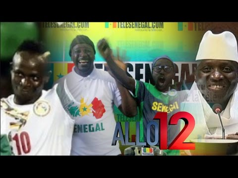 Sénégal vs Zimbabwe et Yayah Jammeh dans Allo 12 avec Pa Nice et Wadioubakh - Tele Senegal