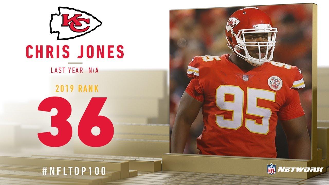 on sale 2b04b 890be #36: Chris Jones (DT, Chiefs) | Top 100 Players of 2019 | NFL