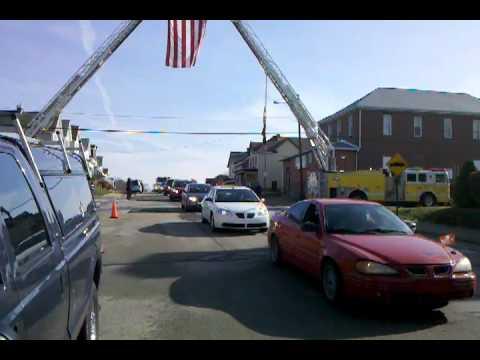 N. Irwin VFD FF James Gumber LODD Funeral 11-15-10