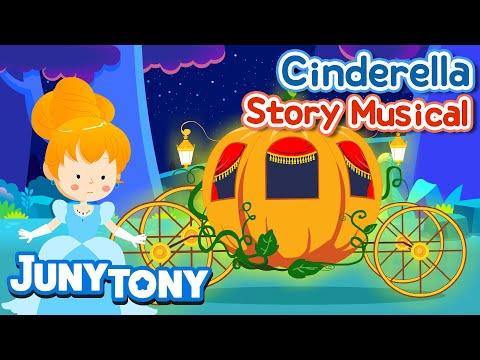 Cinderella  Story Musical  Kids Stories  KizCastle