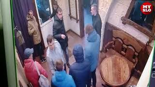 пьяный сотрудник УФСИН «зажигает» в новомосковском клубе