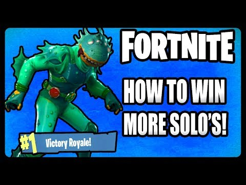 HOW TO WIN MORE SOLO GAMES IN FORTNITE! (BEST TIPS)