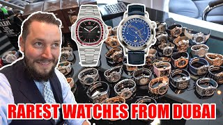 So many Watches in DUBAI 😲