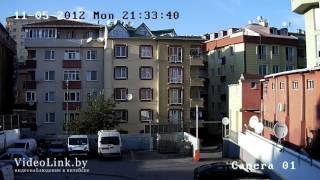 Пример записи  IP камеры видеонаблюдения HIKVISION DS 2CD2112 I улица(, 2015-12-09T08:03:52.000Z)
