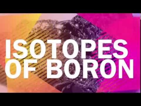 Isotopes of Boron