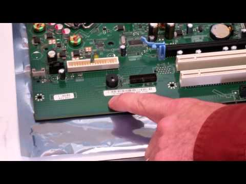 How to identify Dell motherboard part number