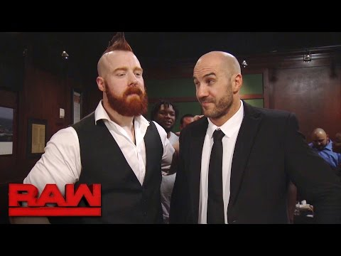 Cesaro & Sheamus unite during a massive bar fight: Raw, Nov. 28, 2016