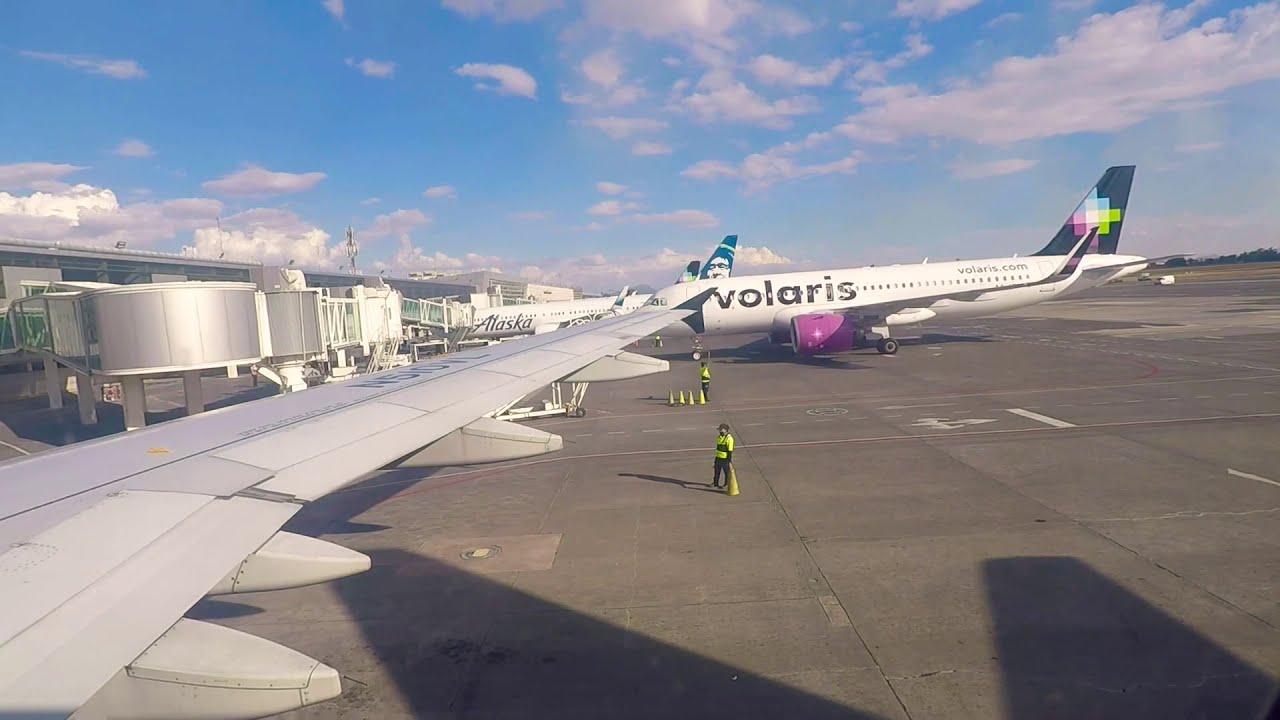 Download DESPEGUE DE GUADALAJARA VOLARIS A320 / FULL TAXI AND TAKEOFF / Y4896 N510VL