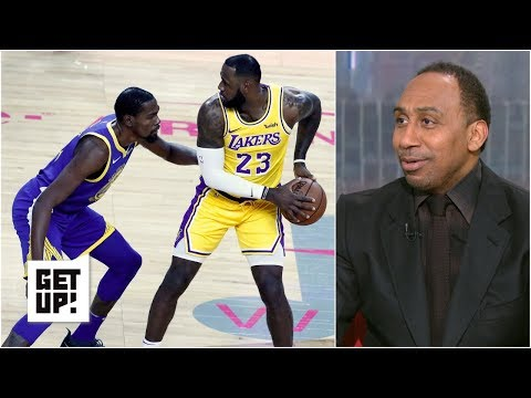 Stars like Kevin Durant don't want to play 'spectator' with LeBron James - Stephen A. | Get Up!