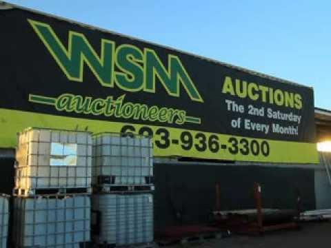 Western, Sales, Management, Inc., Phoenix, Arizona, auctions, auto, used, rebuilt, truck, equipment